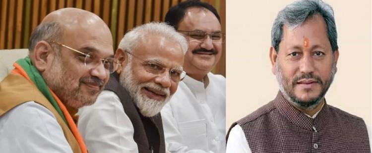 प्रधान मंत्री, गृह मंत्री और बीजेपी अध्यक्ष ने ट्वीट कर दी तीरथ सिंह रावत को सीएम बनने की बधाई